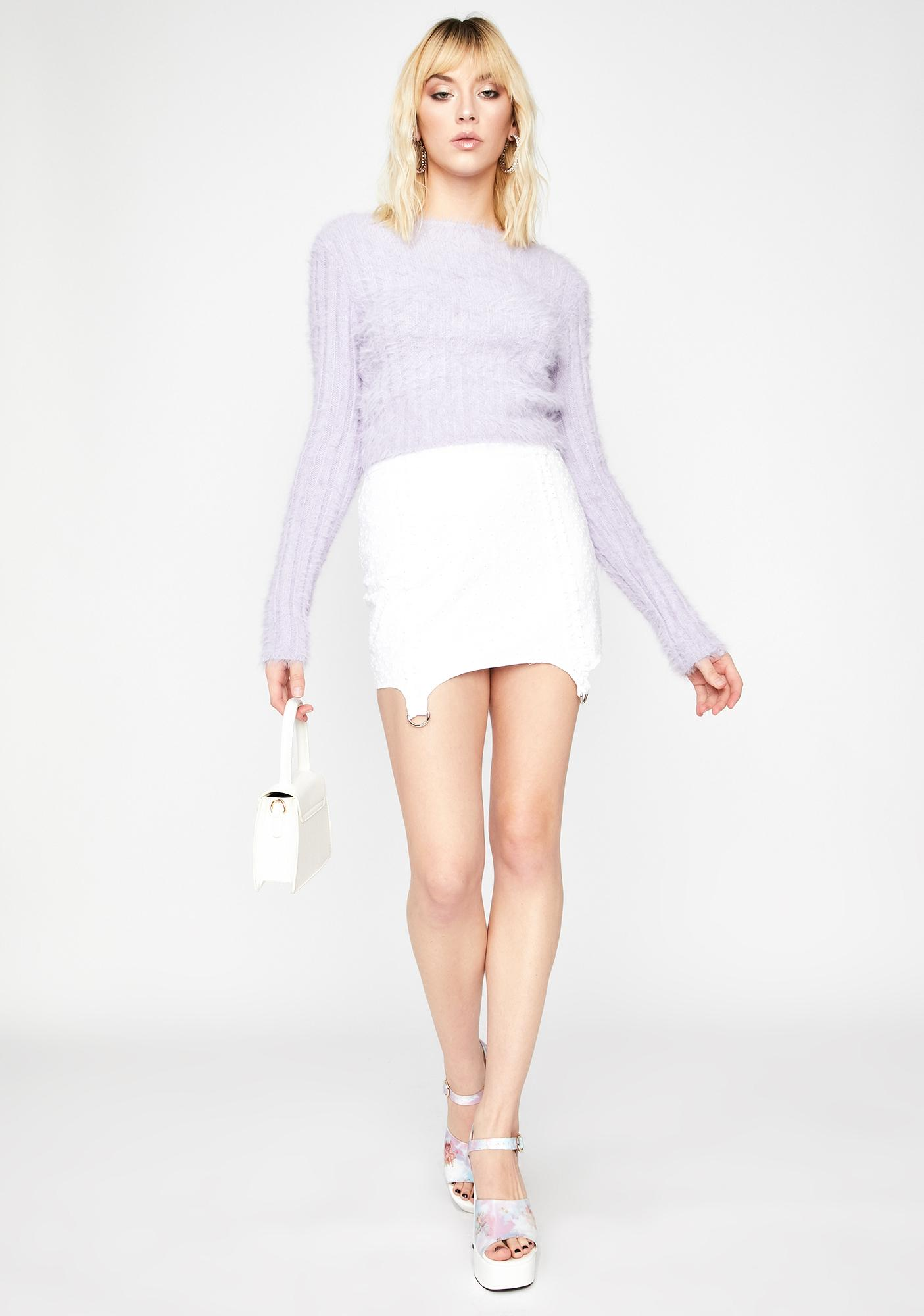 Lilac City Chic Knit Sweater