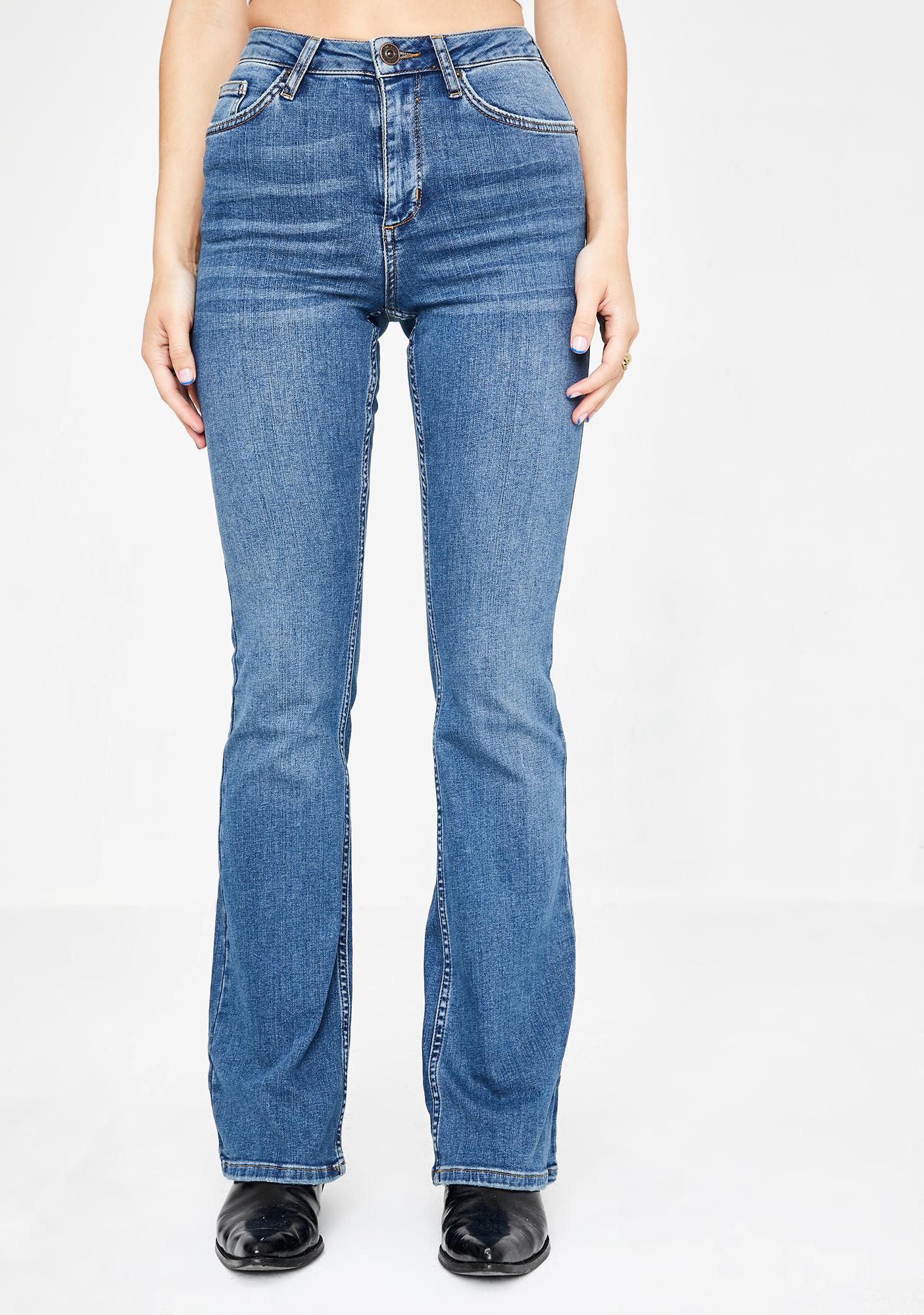 BDG High Rise Vintage Flare Jeans