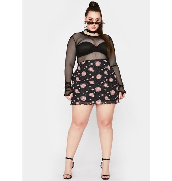 HOROSCOPEZ True Divine Harmony Mesh Skirt