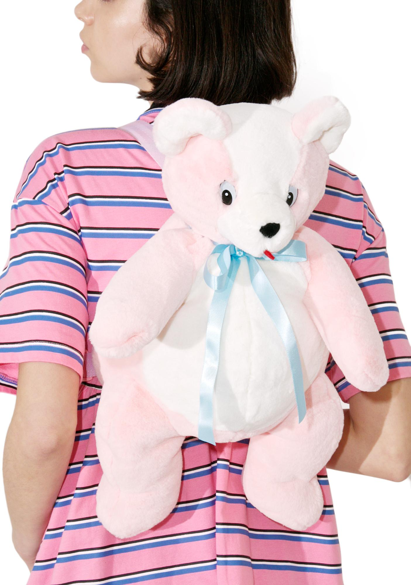 Lazy Oaf Teddy Bear Backpack