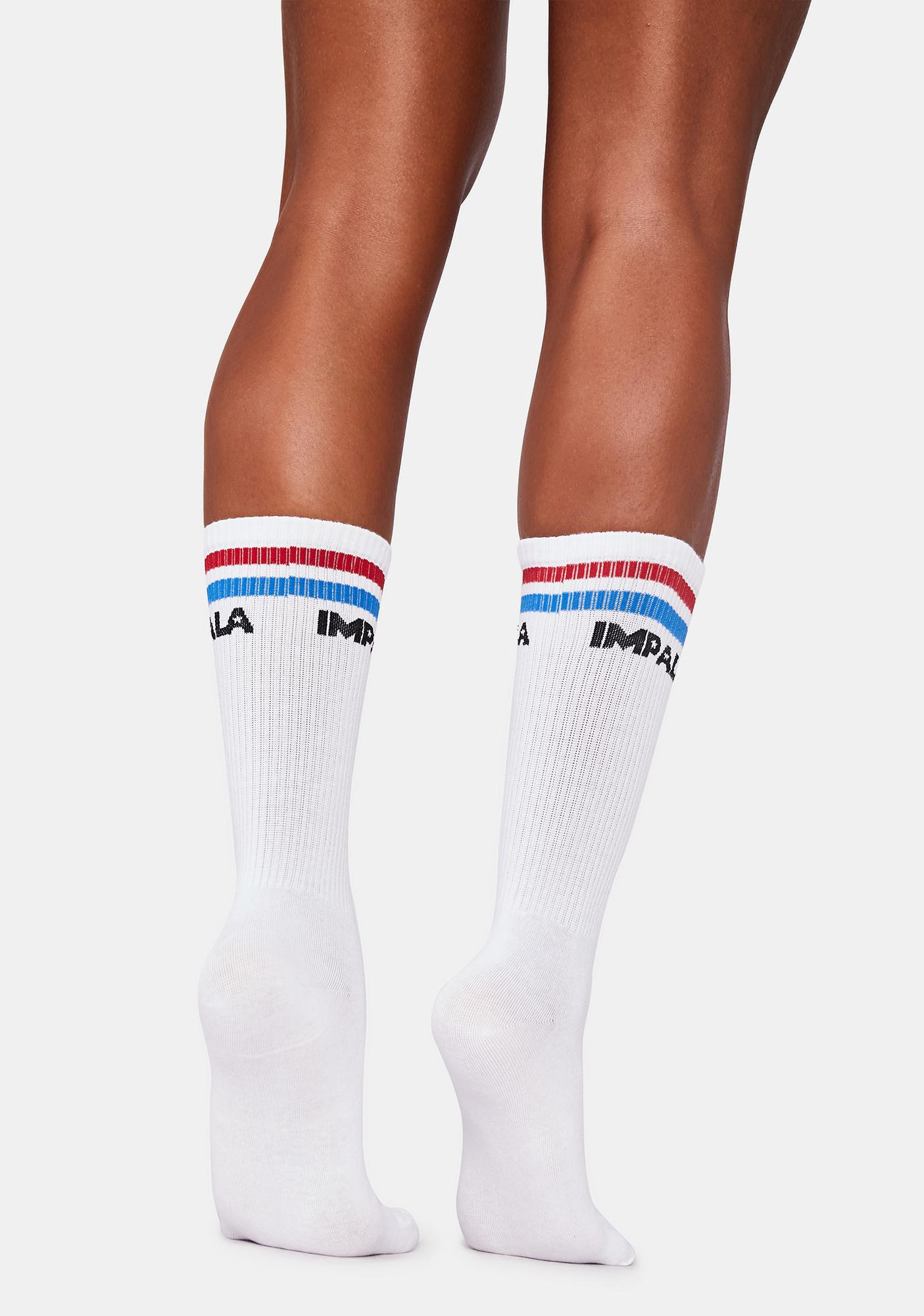 Impala Rollerskates Stripe Sock 3 Pk
