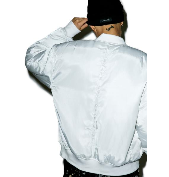 Civil Clothing Pinned Up MA-1 Bomber Jacket