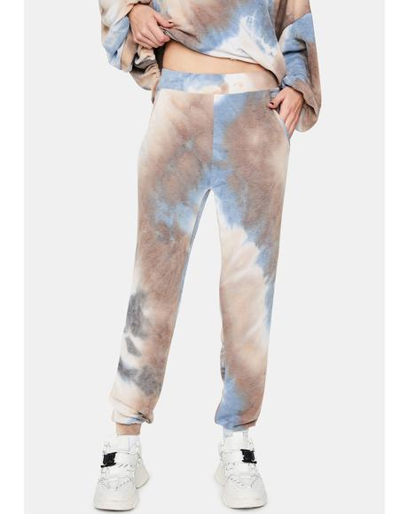 Match My Vibe Tie Dye Sweatpants