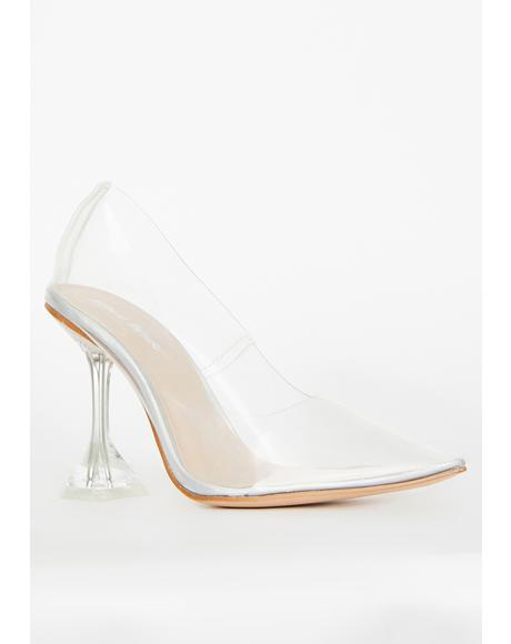 Maison Clear Heels