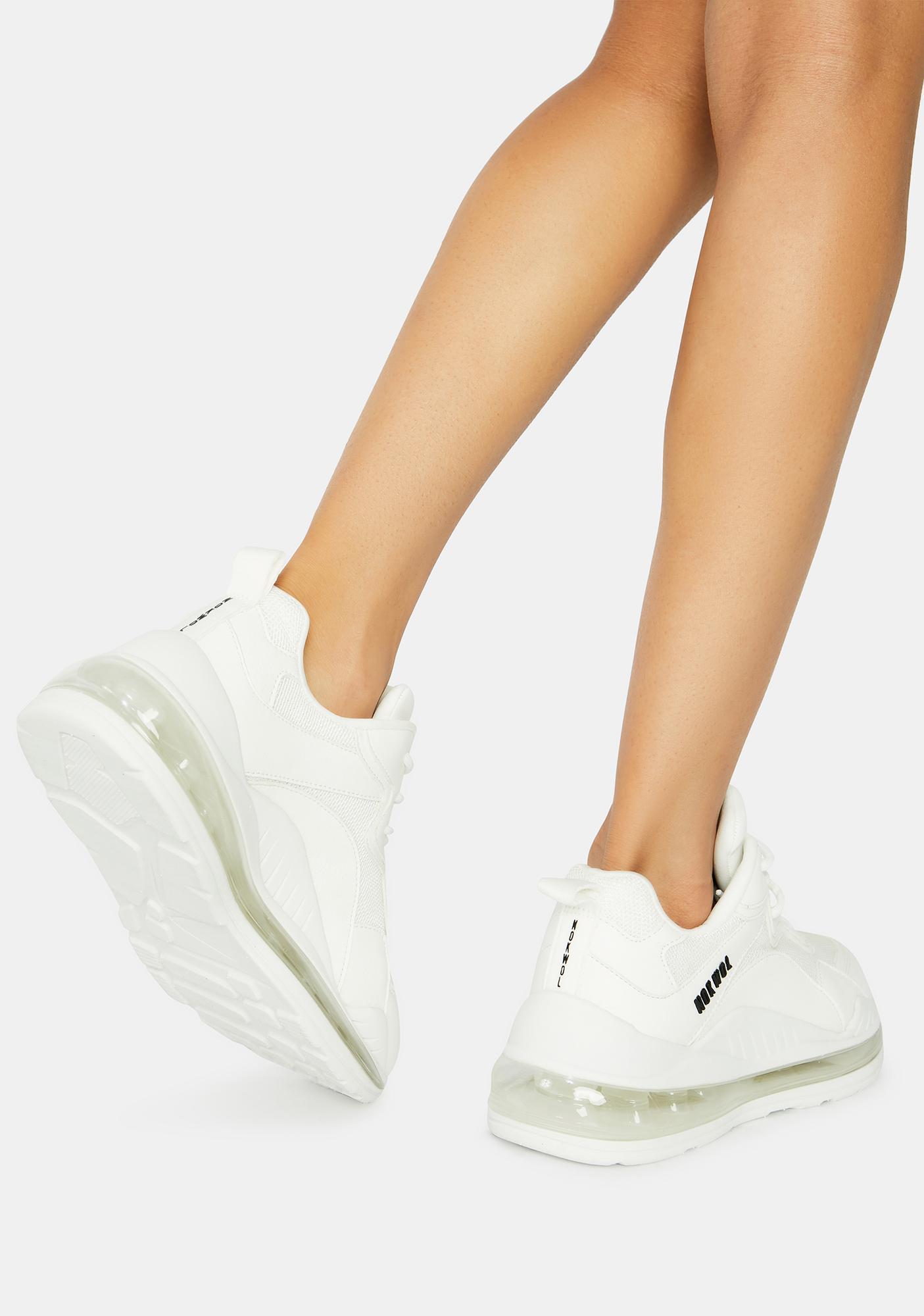 NOKWOL White Active Sneakers