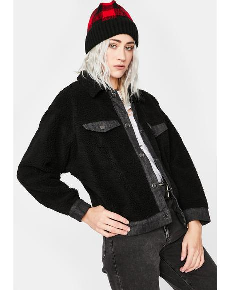 Lonely Weekend Sherpa Jacket