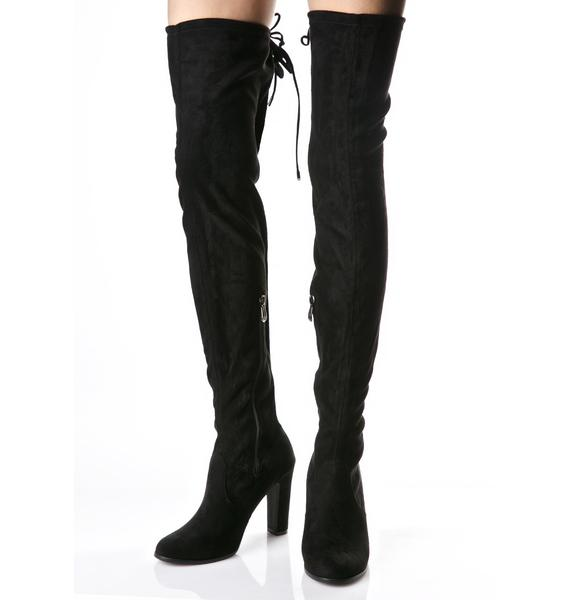 Silencer Thigh-High Boots