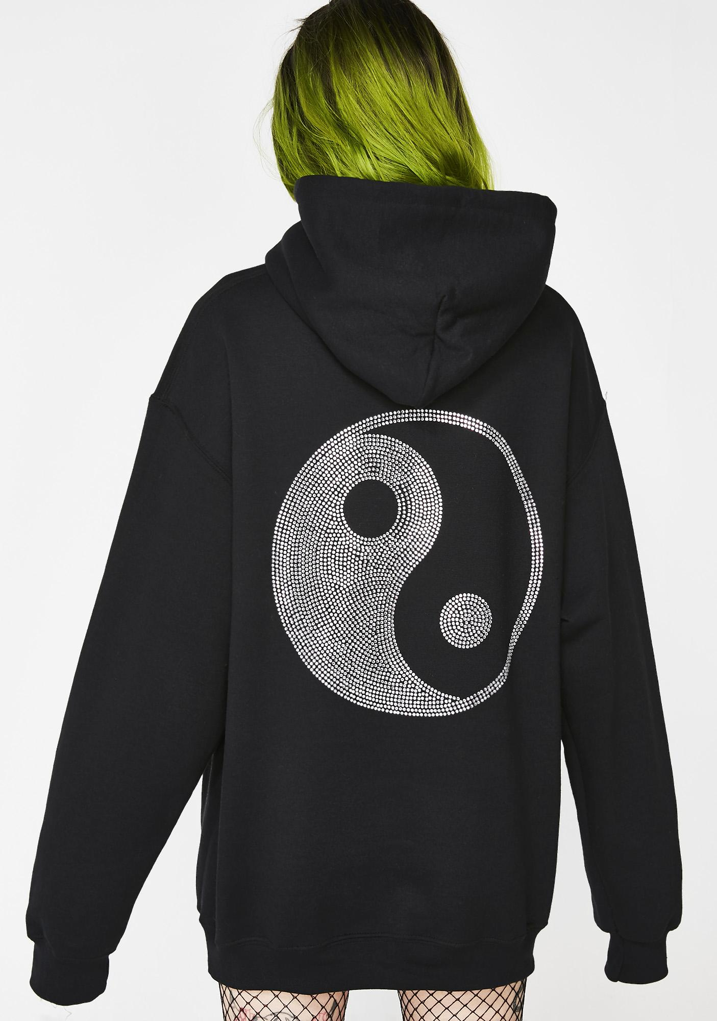 Petals and Peacocks Balance Hoodie