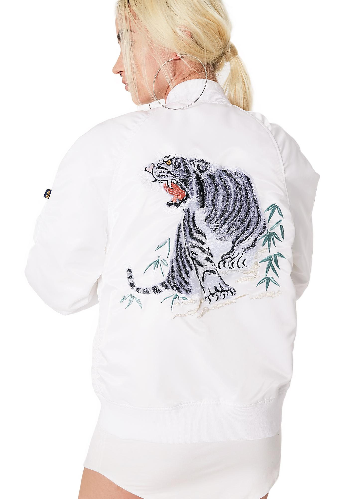 Alpha Industries MA-1 Souvenir Tiger Bomber