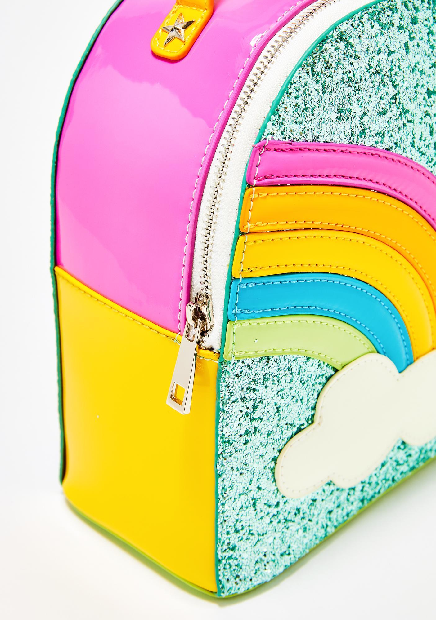 ... Sugar Thrillz Sparkle Rainbow Clique BFF Backpack 626beb2a3cfcb