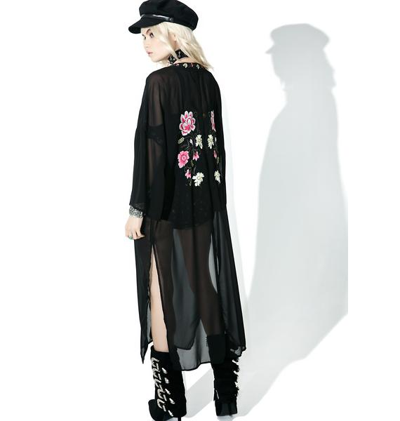 Lover's Lane Floral Kimono