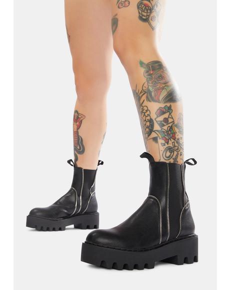 ATM Honey Combat Boots