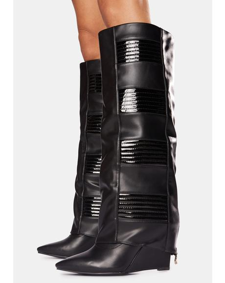 Victoria Wedge Boots