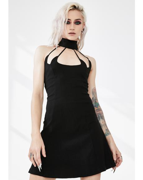 Hestia Cut-Out Skater Dress