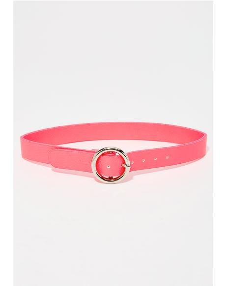 Candy Circle Belt Choker