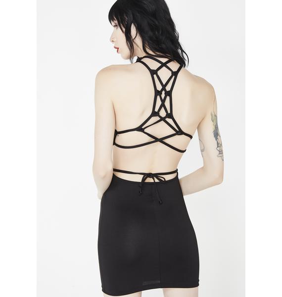 Indecent Exposure Cut Out Dress