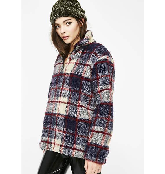 Freeze Out Plaid Pullover