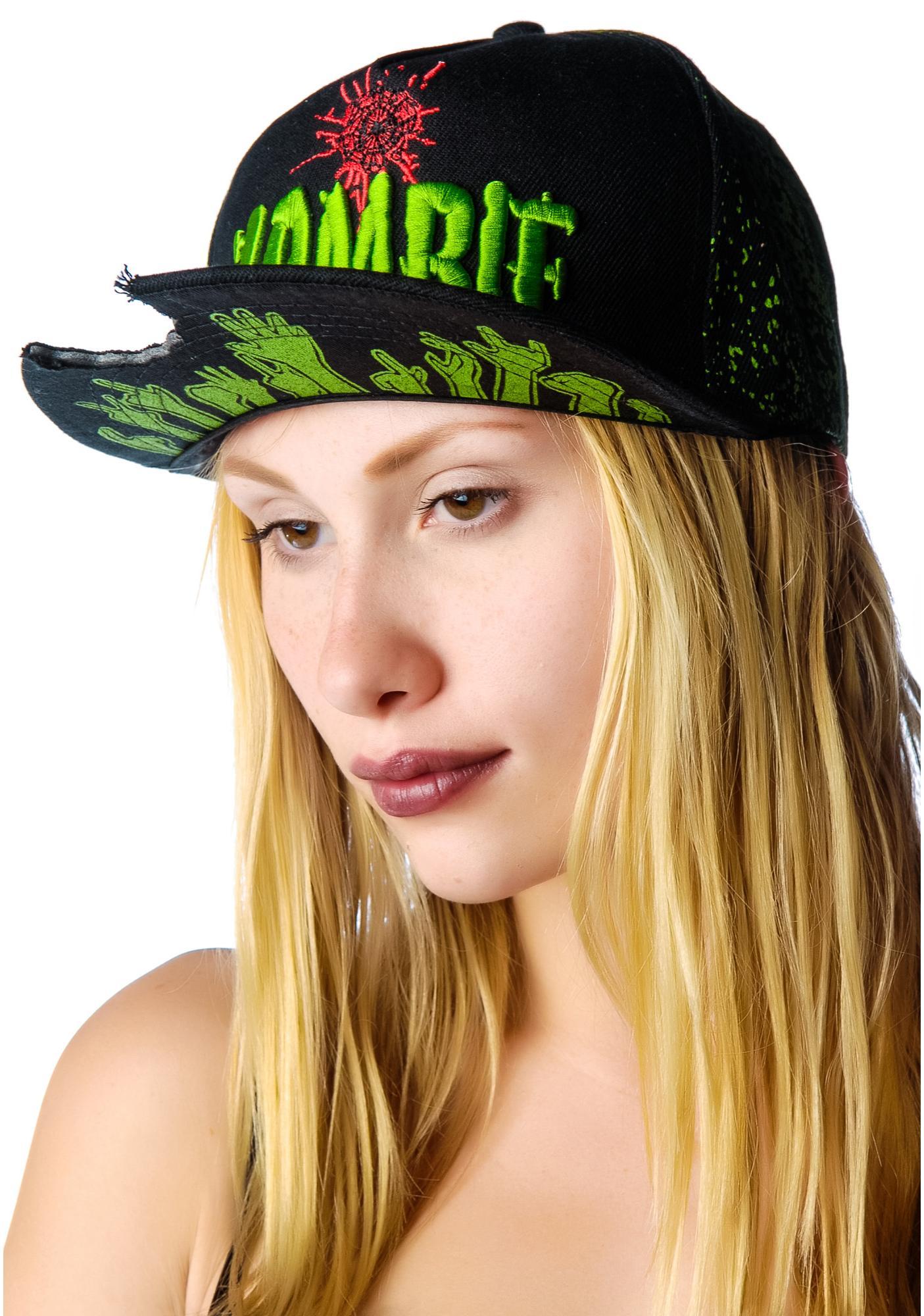 Kreepsville 666 Zombie Baseball Hat