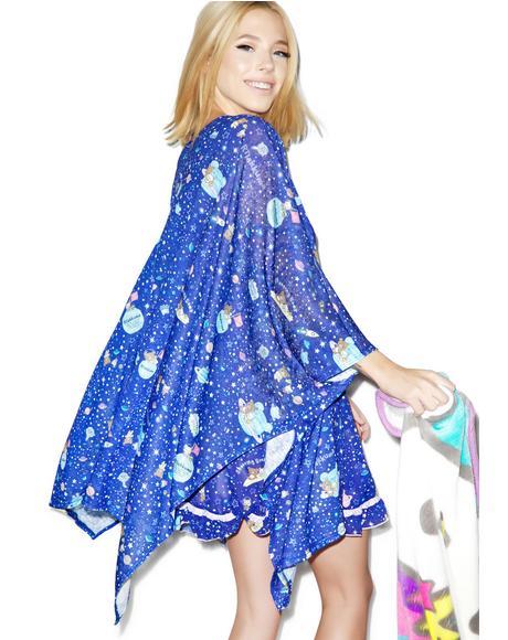 Rilakkuma In Spaaace! Kimono