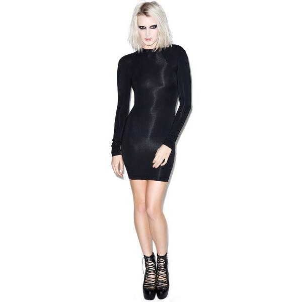 Black Scale Katka Dress