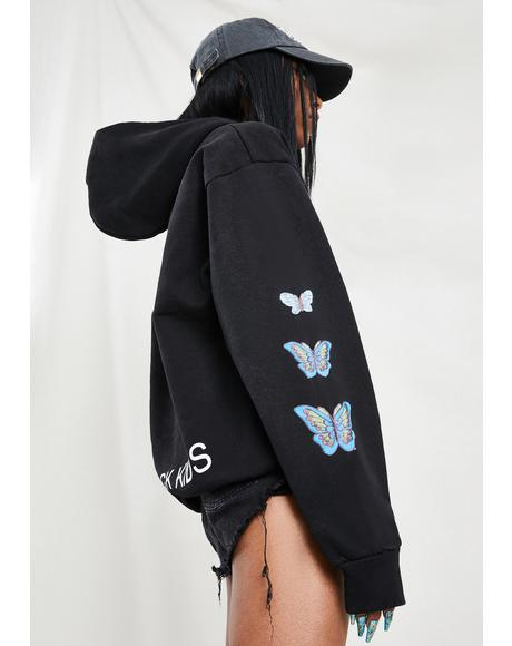 Butterfly Graphic Hoodie