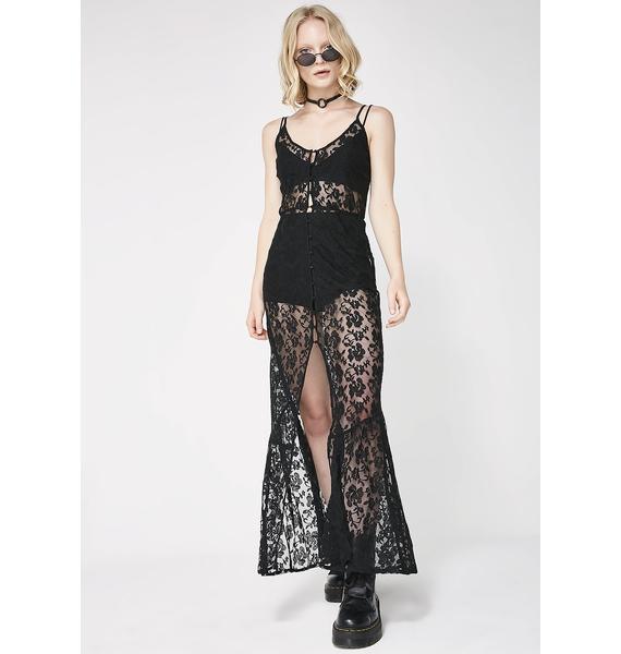 Dark Romance Maxi Dress