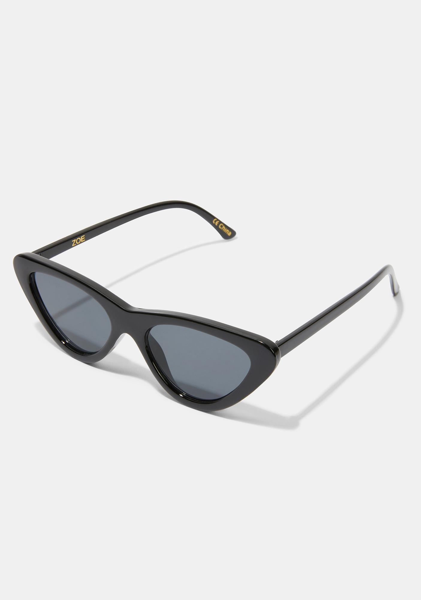 I-SEA Zoe Black Smoke Sunglasses