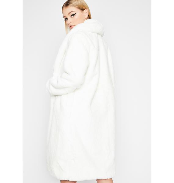 In My Bag Faux Fur Coat