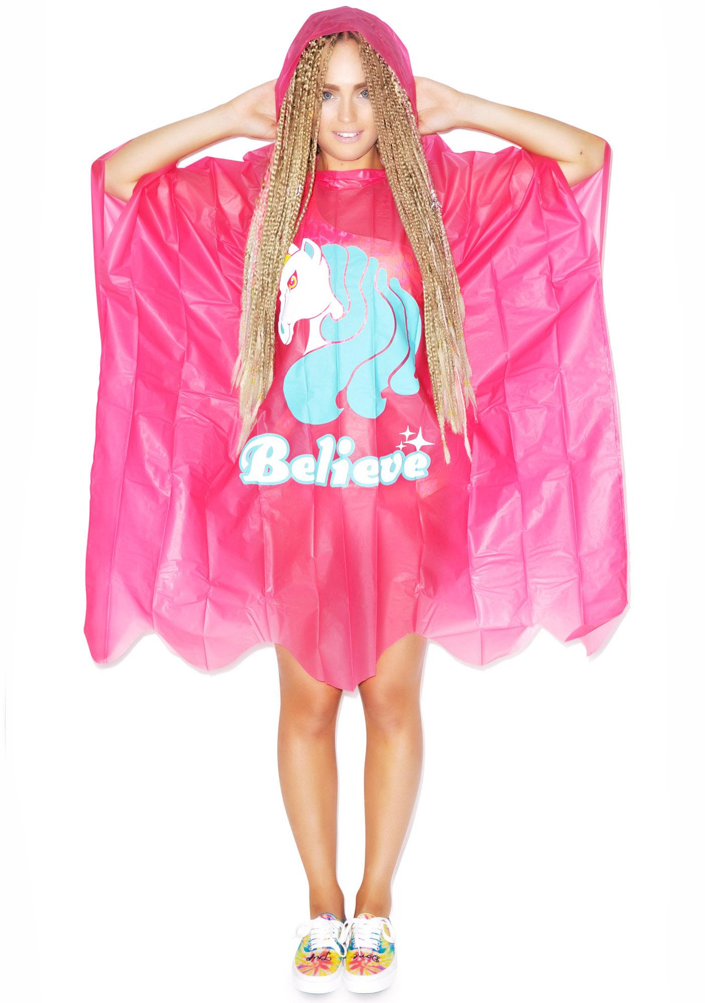 Unicorn Sprinkles Poncho