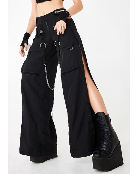 Black Breakaway Cargo Pants