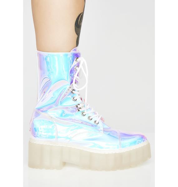 Current Mood Plasma Freeze Combat Boots