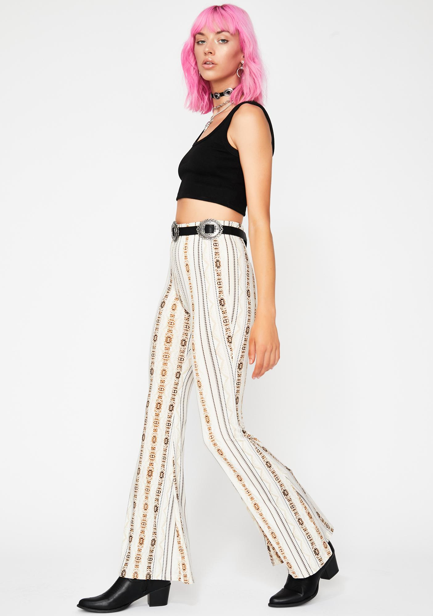 Golden Icon Flared Pants