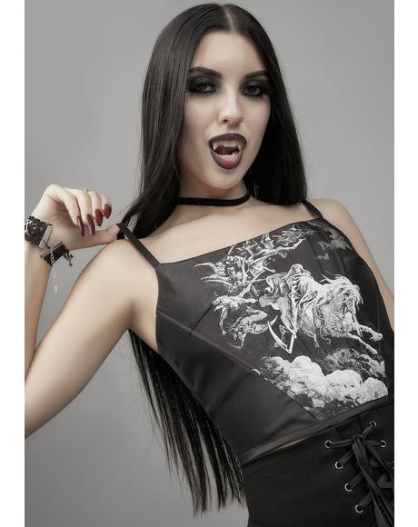 Day Of Wrath Corset Top
