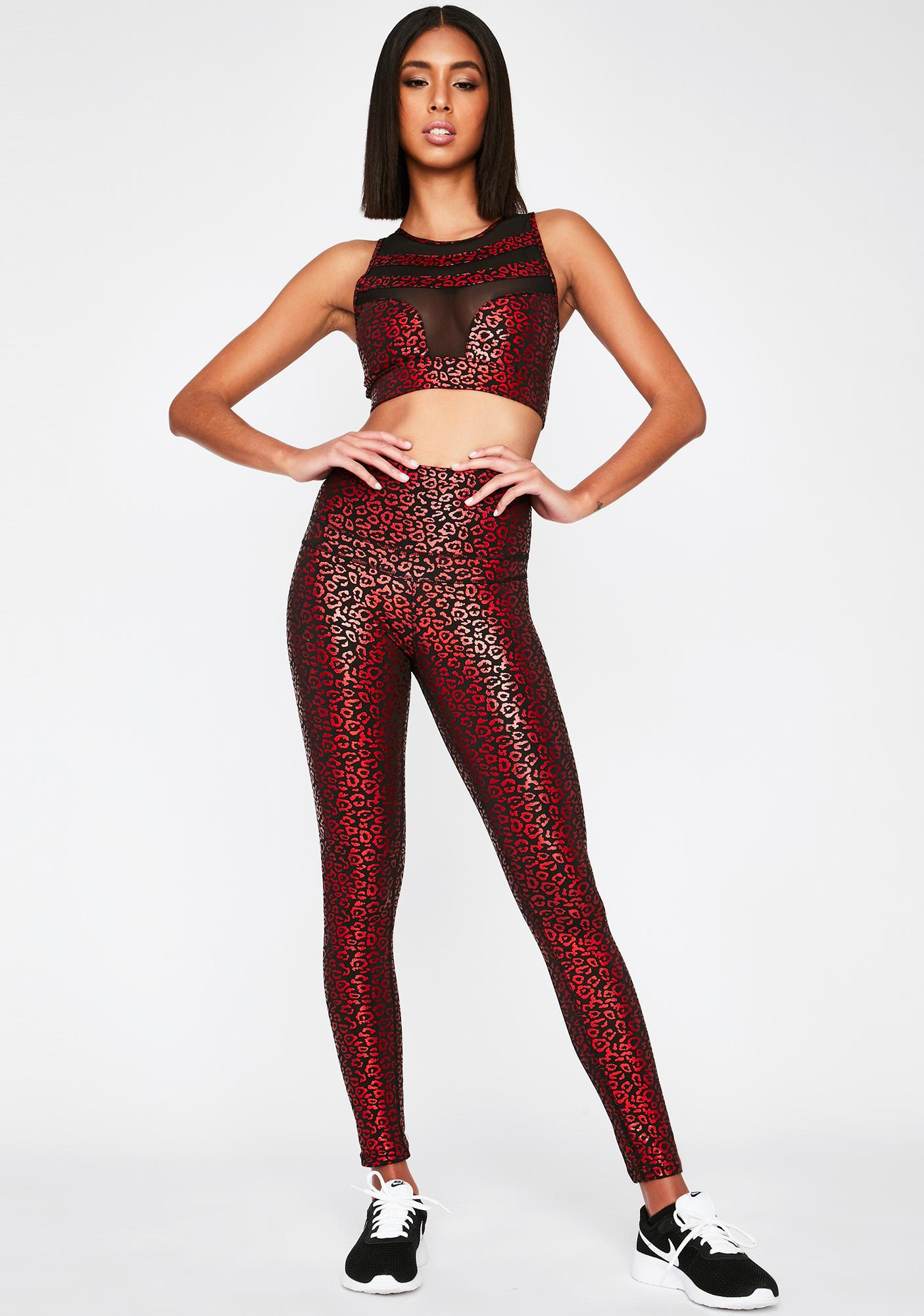 Catty Competition Leopard Leggings