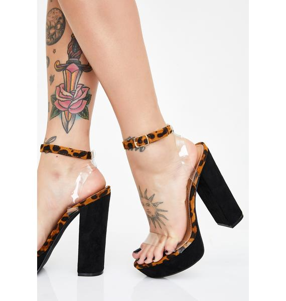 Fierce It Girl Platform Heels