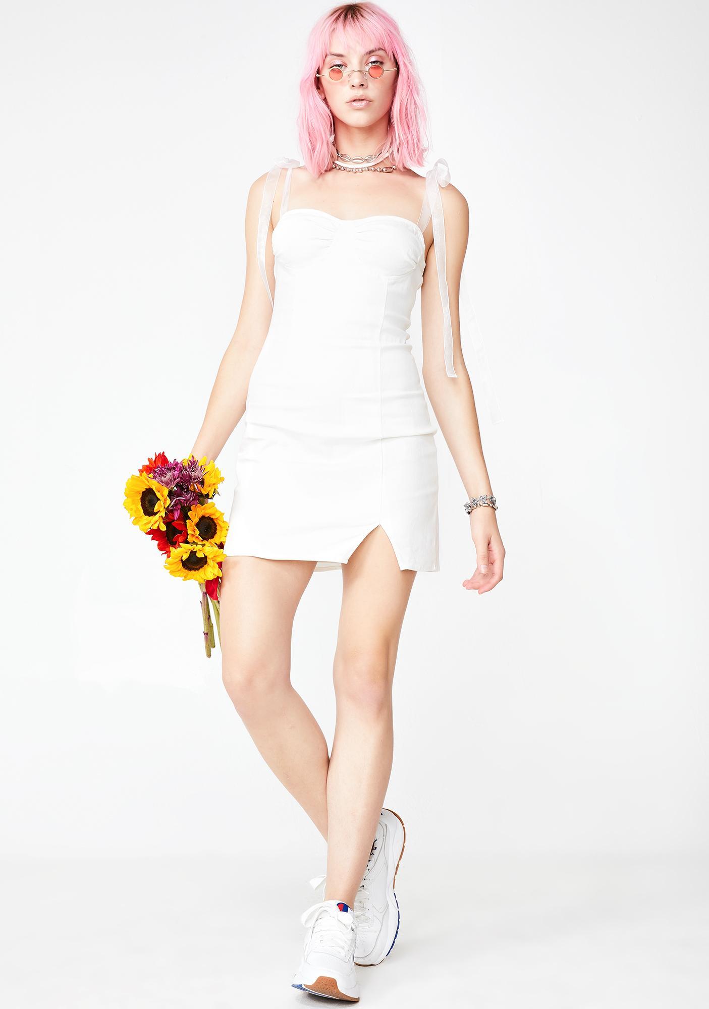 Holy Rose Coven Denim Dress