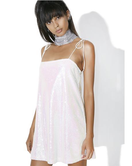 White Pearl Egion Dress