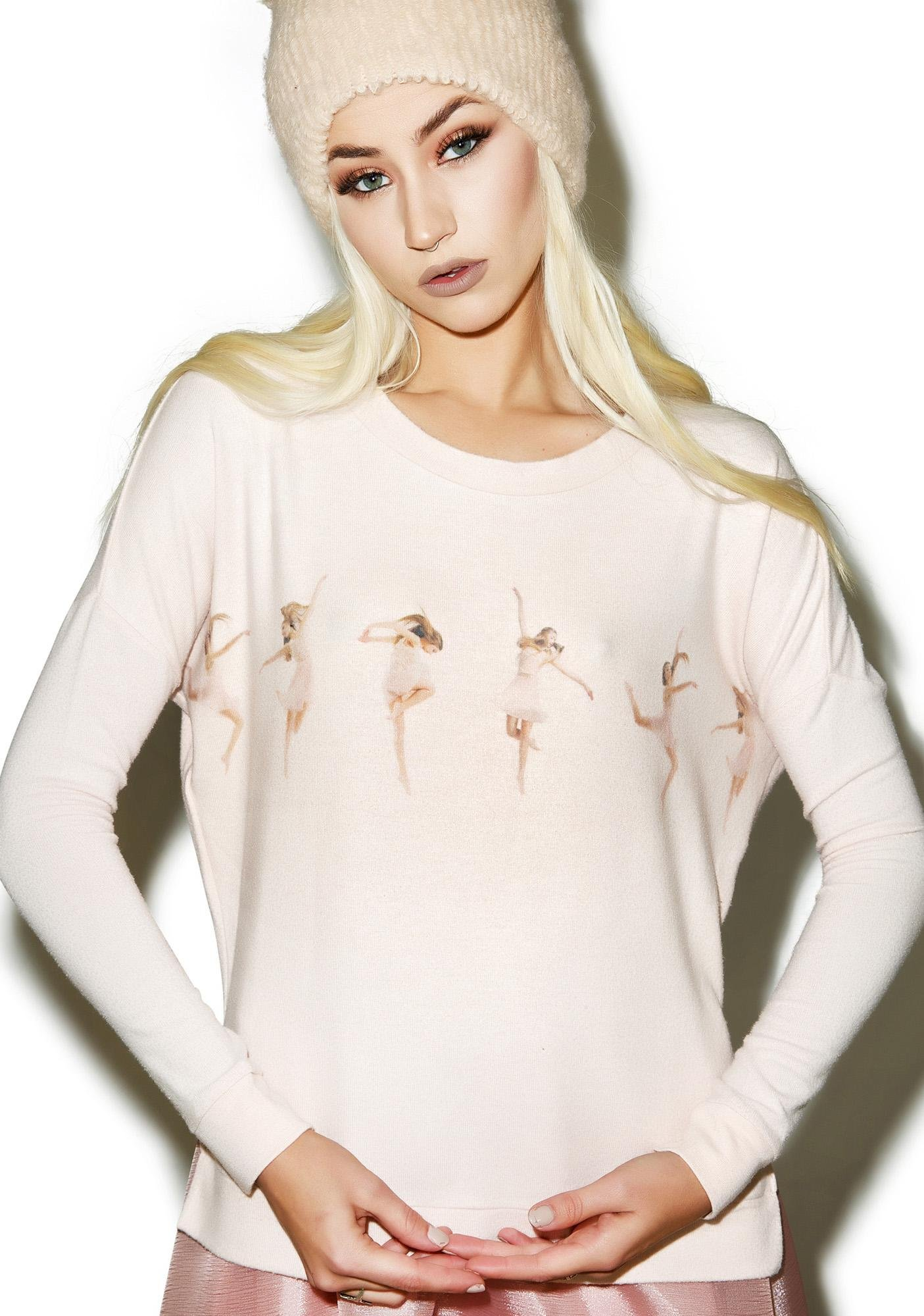 All Things Fabulous Petite Dancer Sweater