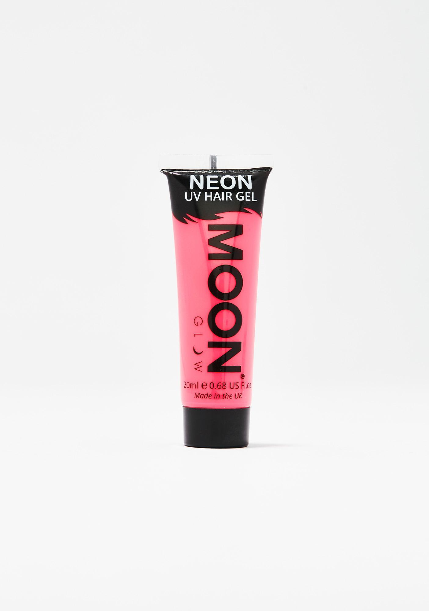 Moon Creations Neon Intense Pink UV Hair Gel
