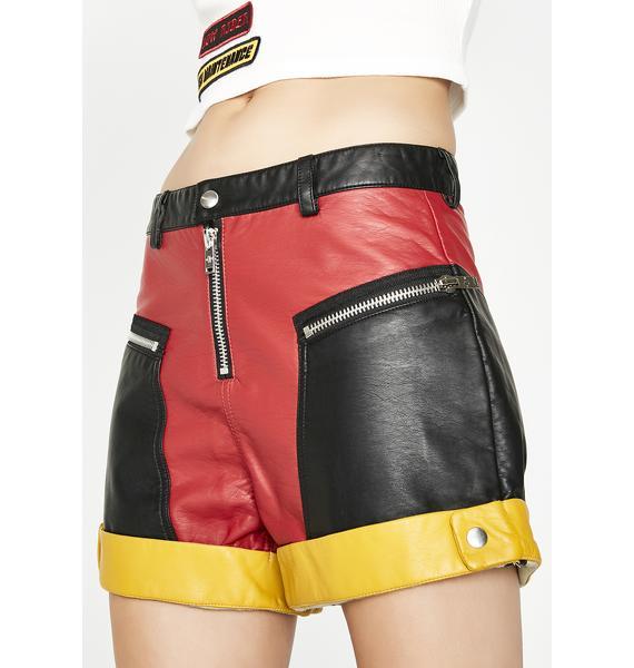 Current Mood Tailgate Moto Shorts