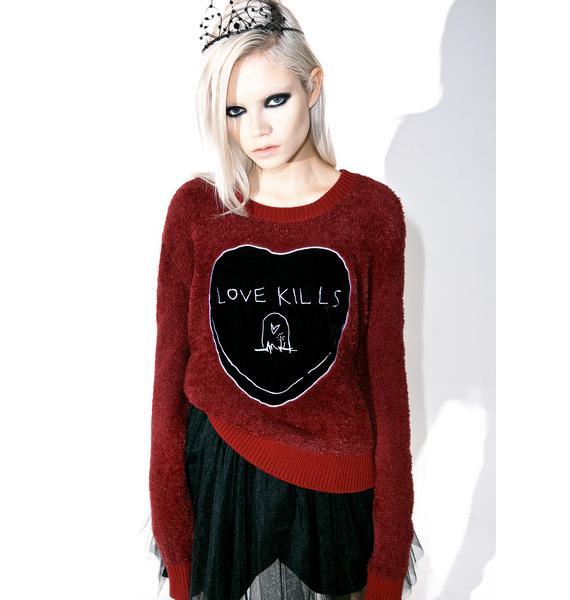 Iron Fist Love Kills Sweater