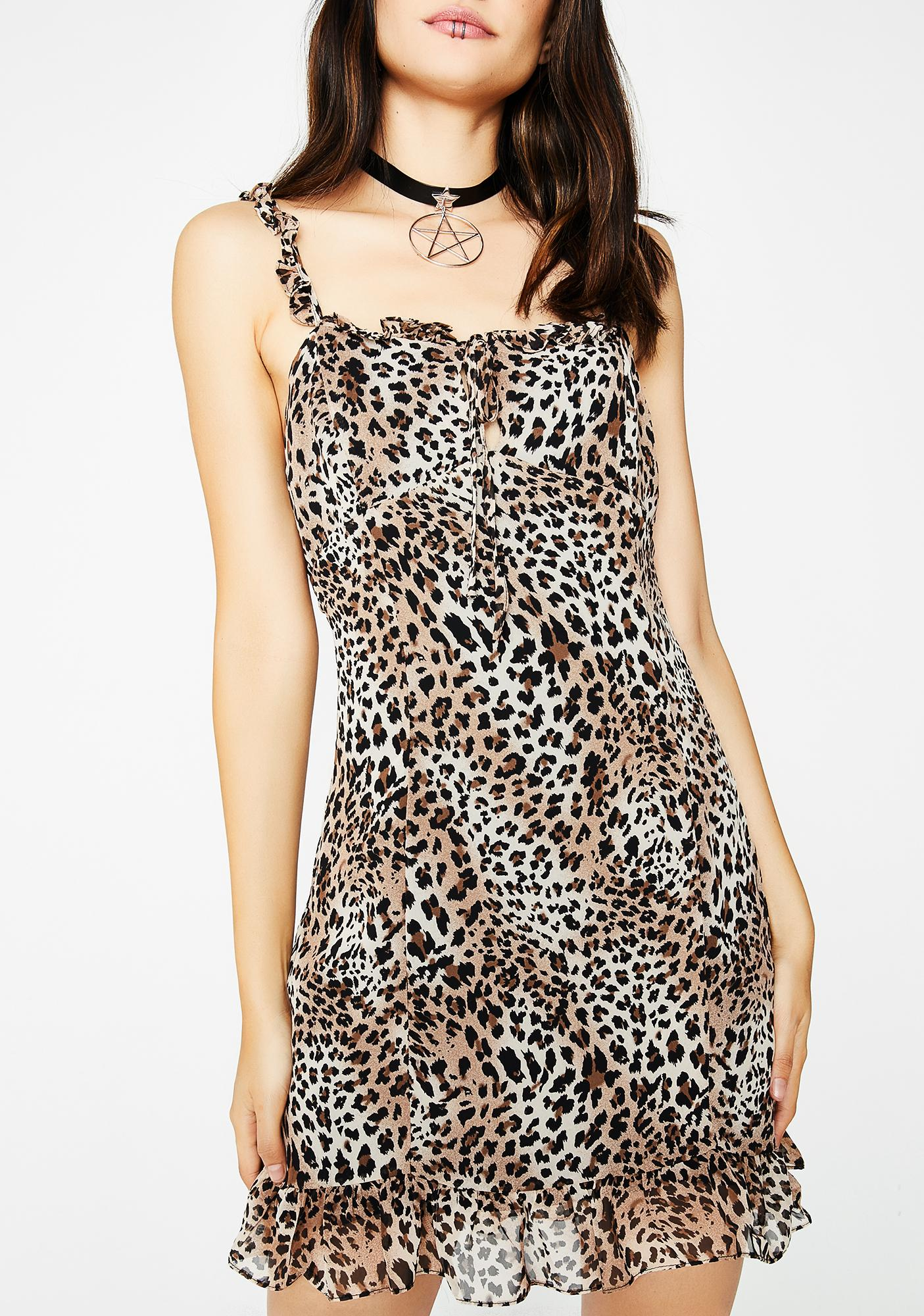 Spotted Cat Dress