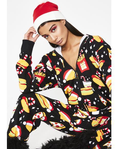 Fa La La La La Fast Food Jumpsuit