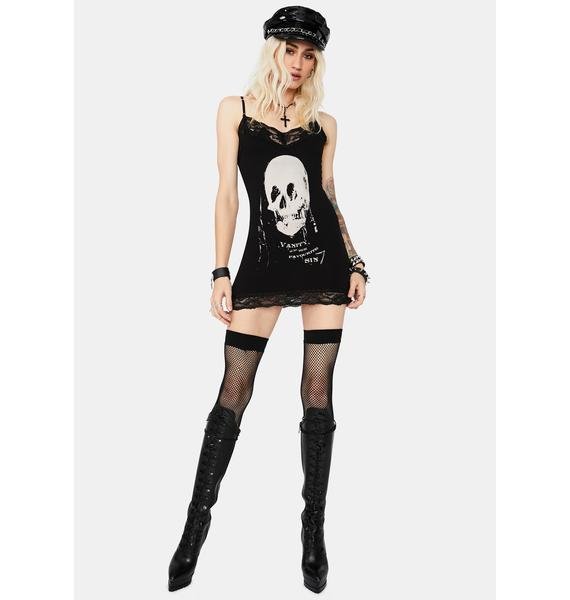 Se7en Deadly All Is Vanity Cami Dress