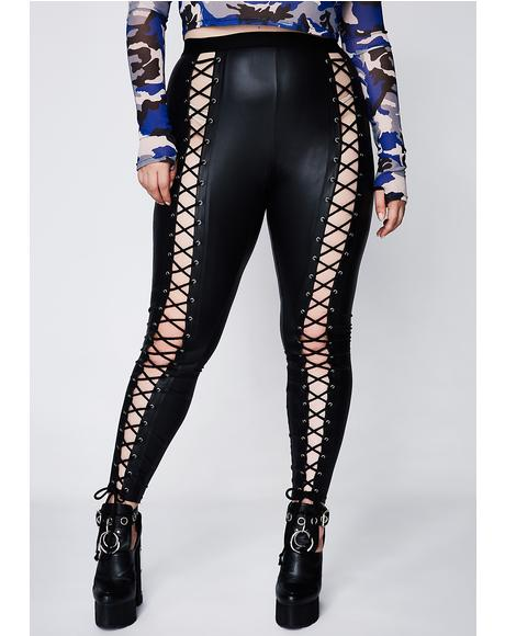 Queen Nancy Corset Leggings
