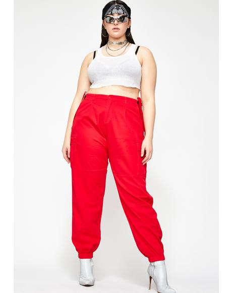 Straight Litty Goal Digger Suspender Pants
