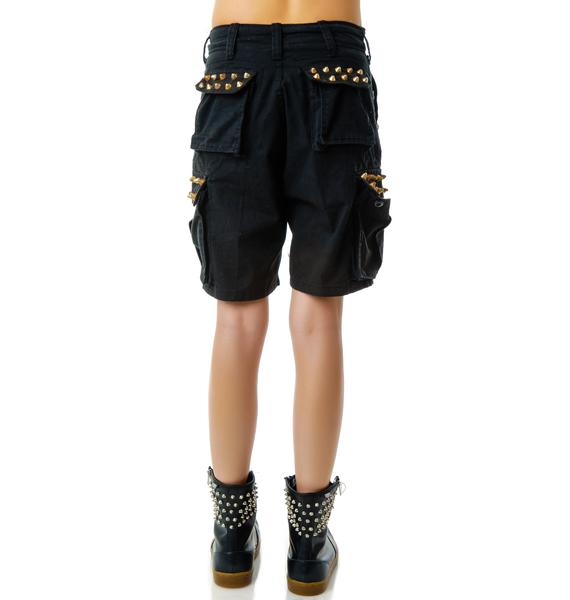 Bess NYC Black Surplus Short