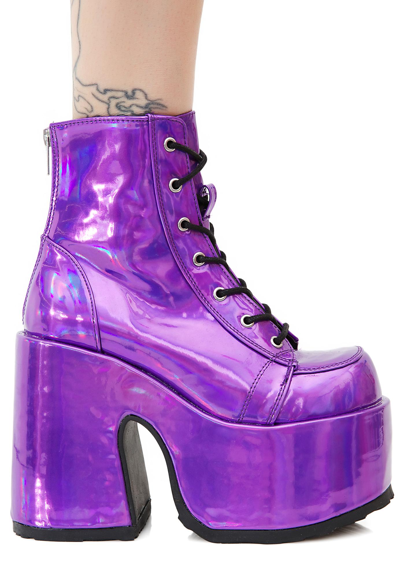 69ca0af5a3d7a Demonia Rave Royalty Platform Boots | Dolls Kill