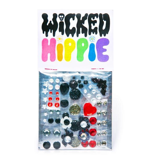 Wicked Hippie Love Mercy Face Jewelz