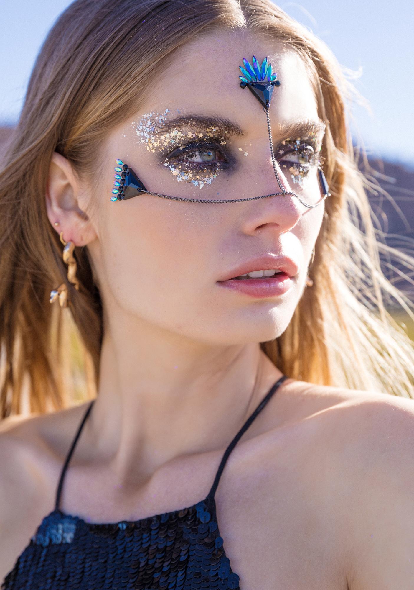 Lunautics Dark Angel Face Gems